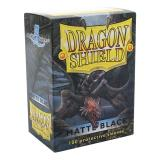 Dragon Shield Sleeves - 100 Stück - Schwarz Matt